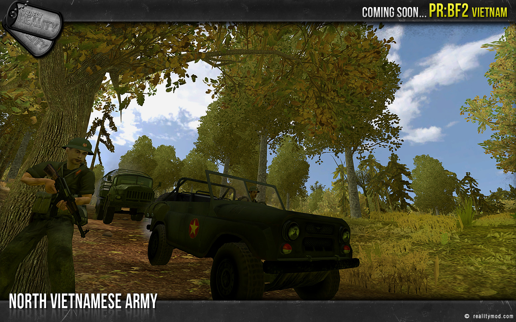 Project Reality: BF2 Vietnam Released! news